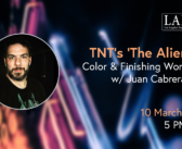 Exploring TNT's 'The Alienist' Color Grading and Finishing Workflow with Juan Cabrera, CSI at LAPPG's March 2021 Meeting